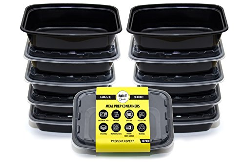 Bolt Goods Large Xl Reusable Food Storage Containers With