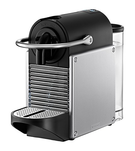 nespresso pixie espresso machine by de 39 longhi aluminum amazon deals. Black Bedroom Furniture Sets. Home Design Ideas