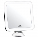 10X Magnifying Lighted Makeup Mirror – Daylight LED Travel Vanity Mirror