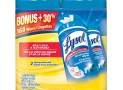 Lysol Disinfecting Surface Wipes, Value Pack 160 Count