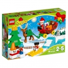 LEGO DUPLO Town Santa's Winter Holiday Building Kit, 45 Piece