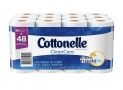 Cottonelle Double Roll Toilet Paper, 24 Count