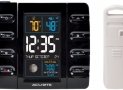 AcuRite Intelli-Time Projection Alarm Clock with Temperature