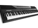 Alesis Coda | 88-Key Digital Piano with Semi-Weighted Keys, Split Keyboard & Voice Layering, and Included Sustain Pedal