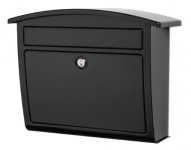 Architectural Mailboxes Dal Rae Locking Wall Mount Mailbox, Black