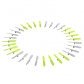 AUKEY 32 Mini Drone Replacement Blades, 8 Sets Quadcopter Propellers for AUKEY UA-P01 and UA-P01W, CX-10