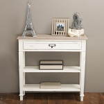 Baxton Studio Dauphine Traditional French 1-Drawer Accent Console Table