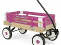 Berlin Amish-Made Pee-Wee Flyer Ride-On Wagon, Hot Pink