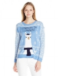 Blizzard Bay Womens Llamahah Chanukah Ugly Christmas Sweater