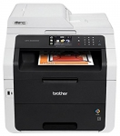 Brother MFC-9340CDW Wireless Laser Color All-in-One LED Multifunction Printer with Duplex Printing