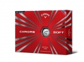 Callaway Chrome Soft 2015 Golf Balls, White
