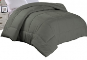 Cathay Home Double Fill Gray Alternative Down Comforter