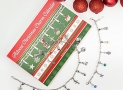 Advent Calendar DIY Bracelet Necklace set with 22 Charms Fashion Jewelry