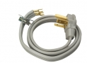 Coleman Cable 09124 4-Foot 30-Amp 3-Wire Dryer Power Cord