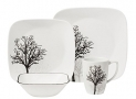 Corelle Square 16-Piece Dinnerware Set, Service for 4