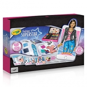 Crayola Fashion Superstar, Colouring Book and App, Toy for Girls, Gift ages 8, 9, 10, 11, 12