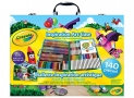 Crayola Inspiration Art Case: 140 Art Supplies, Crayons, Colored Pencils, Washable Markers, Paper, Portable Case, colouring Gifts for Kids
