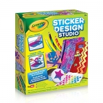 Crayola Sticker Design Studio, Sticker Maker, Gift for Kids, Ages 8, 9, 10, 11, 12
