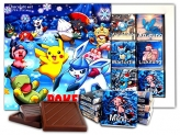 DA CHOCOLATE Candy Souvenir POKEMON BOX Chocolate Gift Set 13x13cm 1 box (Christmas)