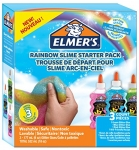 Elmer's Rainbow Glue Kit with Green, Blue and Pink Glitter Glue, 177 mL Each, 3 Count