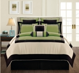 Fashion Street Gramercy 12-Piece Bed-In-a-Bag, Cal King