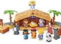 Fisher-Price Little People Deluxe Nativity Scene Playset