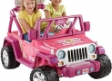 Fisher-Price Power Wheels Barbie Deluxe Jeep Wrangler