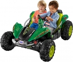 Fisher-Price Power Wheels Nickelodeon Teenage Mutant Ninja Turtles Dune Racer Car