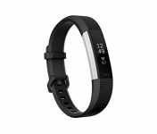 Fitbit Alta HR Monitor, Black, Small