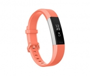 Fitbit Alta HR Monitor, Coral, Large