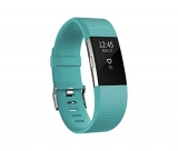 Fitbit Charge 2 Heart Rate Plus Fitness Wristband, Teal, Large
