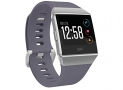 Fitbit Ionic Smartwatch, Blue-Gray/Silver, One Size (S and L Bands Included)