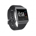 Fitbit Ionic Smartwatch, Charcoal/Smoke Gray, One Size (S and L Bands Included)
