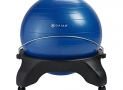 Gaiam Backless Balance Ball Chair, Blue