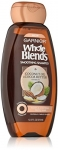 Garnier Whole Blends Coconut Oil and Cocoa Butter Smoothing Shampoo. Fix Frizzes and Fly-Always, Paraben-Free, 370 ml
