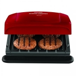 George Foreman Grill with Removable Plates, Red, 4 Serving