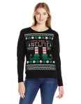 Hanes Womens Ugly Christmas Sweatshirt – Elfie