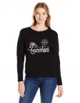 Hanes Womens Ugly Christmas Sweatshirt – Black in It for the Cookies