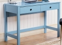 Homestar FurnitureOthello writing desk with single drawer in Blue Finish