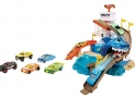 Hot Wheels Color Shifters Shark Splashdown Trackset