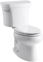 Kohler Wellworth Elongated 1.28 gpf Toilet, 14-Inch Rough-In