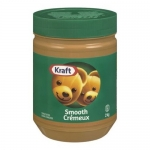 KRAFT Peanut Butter – Smooth 2KG