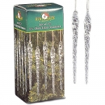 Kurt Adler 5-1/4-Inch Glass Icicle Ornament 12-Piece Box Set