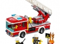 LEGO City Fire Ladder Truck (214 Piece)