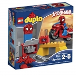 LEGO DUPLO Spider-Man Web-Bike Workshop Spiderman Toy