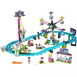 LEGO Friends Amusement Park Roller Coaster Toy for Girls and Boys
