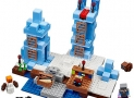 LEGO Mine Craft The Ice Spikes Building Kit, 454 Pieces
