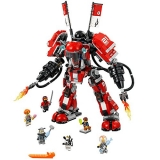LEGO Ninjago Fire Mech Building Kit, 944 Piece