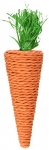 Living World Nibblers Corn Husk Pet Chew, Carrot