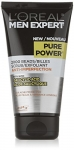 L'Oreal Paris Men Expert Pure Power, Anti-Imperfection Scrub, Exfoliating Face Cleanser With Salicylic Acid, For Acne Prone Skin, 150 ML